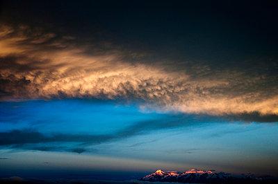 Abend in den Anden - p1135m932478 von Eugeni Gay Marin
