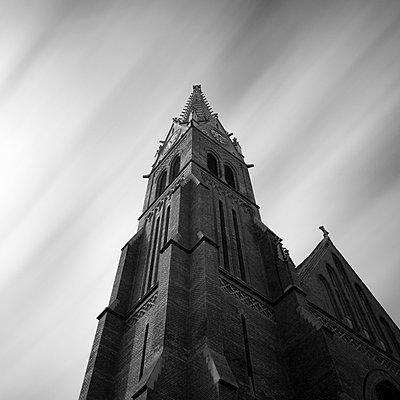 Rudoldsheim parish church, Vienna, Austria - p429m801482 by Alex Holland