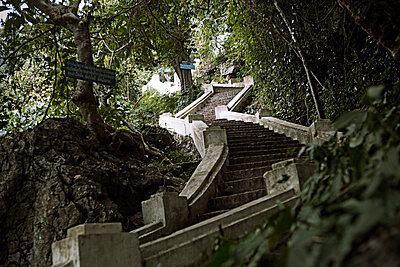 Stairs in Kuang Prabang - p737m1446460 by Tamara Jung-König