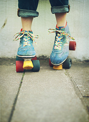 roller skates - p984m2020662 by Mark Owen