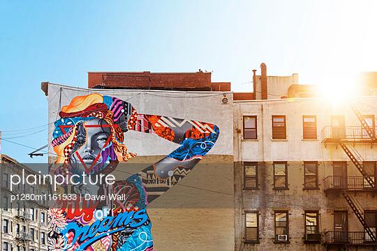 Street Art NYC - p1280m1161933 von Dave Wall