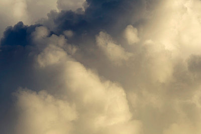 Clouds And Blue Sky  - p1014m745814 by Jeff Hornbaker