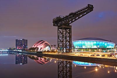 Kran, Clydeport, Glasgow - p587m1091795 von Spitta + Hellwig