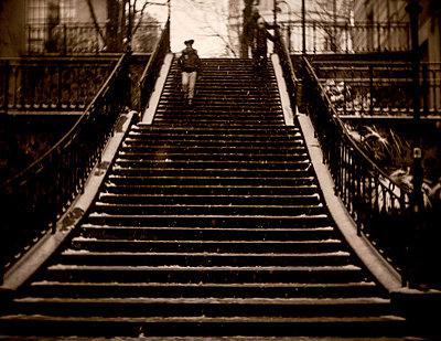 Paris, Montmartre District - p1654m2253716 by Alexis Bastin