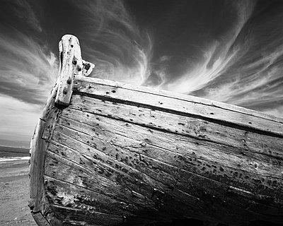 Almeria; Fischerboot - p1016m815736 von Jochen Knobloch