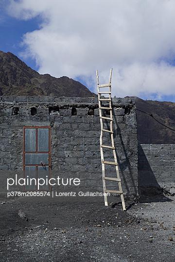 Fogo  Ladders Cape Verde - p378m2085574 by Lorentz Gullachsen