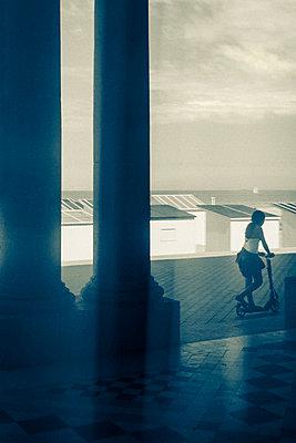 Überlagerung, Ostende - p1245m1043434 von Catherine Minala