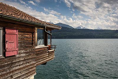 Haus am See - p1354m1423595 von Kaiser