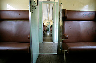 Interior of train - p3882108 by L.B.Jeffries