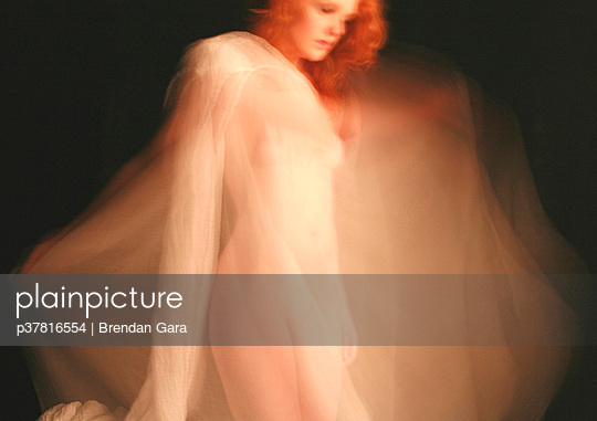 Red haired nude woman - p37816554 by Brendan Gara