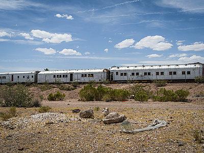 Ghosttrain, Boulder City, Nevada - p1232m1041147 von Moritz Schmid