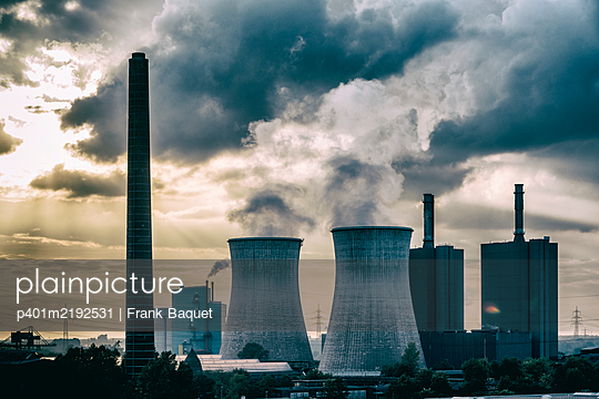 Steel mill in Duisburg - p401m2192531 by Frank Baquet