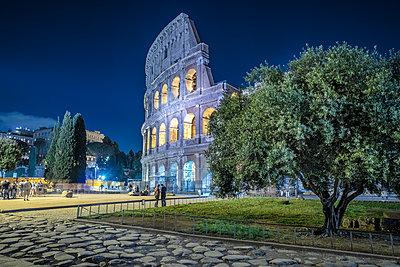 Rome, Colosseum - p1275m2100028 by cgimanufaktur