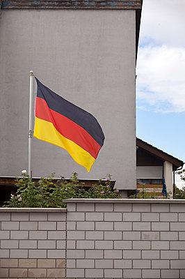 German flag - p580m2071236 by Eva Z. Genthe