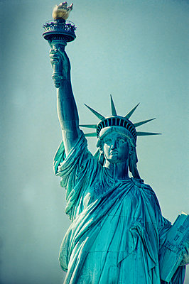 Statue of Liberty - p1445m2150950 by Eugenia Kyriakopoulou