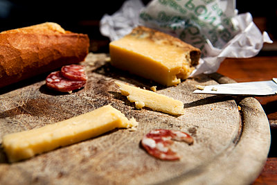 Bread and cheese - p7720023 by bellabellinsky