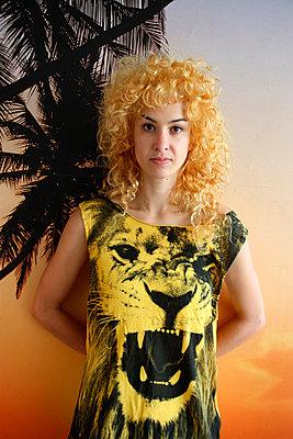 Löwenmähne - p258m984666 von Katarzyna Sonnewend