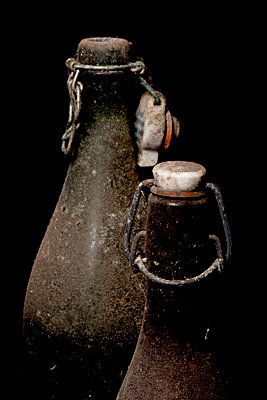 Old dirty bottles - p451m987495 by Anja Weber-Decker