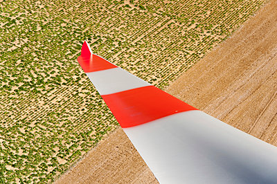 Rotor blade and fields - p1079m891079 by Ulrich Mertens