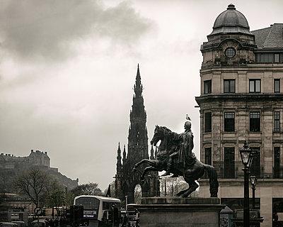 Scott Monument Edinburgh - p1222m1425538 von Jérome Gerull