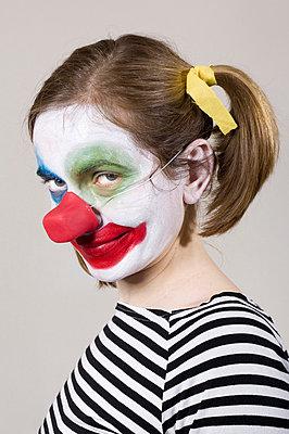 Clownin - p3580449 von Frank Muckenheim