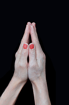 Folded hands - p450m1039280 by Hanka Steidle