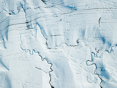 Alaska, Glacier - p1455m2204495 by Ingmar Wein