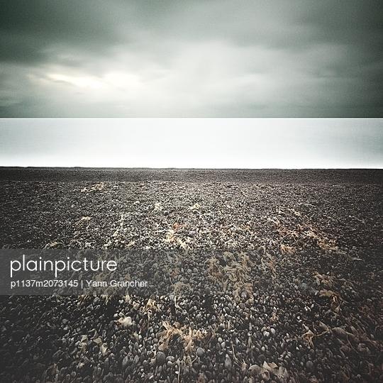 Küste bei Fécamp - p1137m2073145 von Yann Grancher