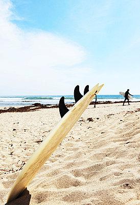 Surf board - p0452715 by Jasmin Sander