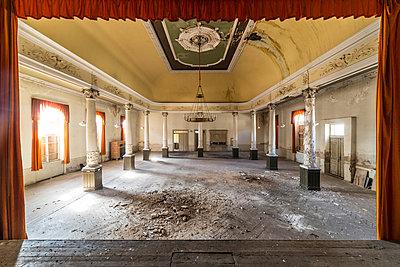Abandoned Ballroom  - p1440m1497534 by terence abela