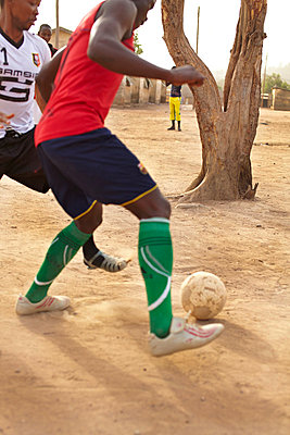 Football in Africa - p3900533 by Frank Herfort