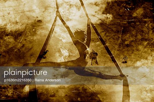 Aerial Silks/Workout Floor (Ri Mariposa) - p1636m2216350 by Raina Anderson