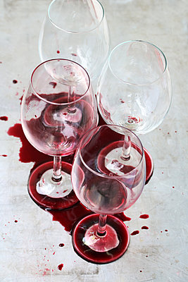 Spilled wine - p450m1573762 by Hanka Steidle