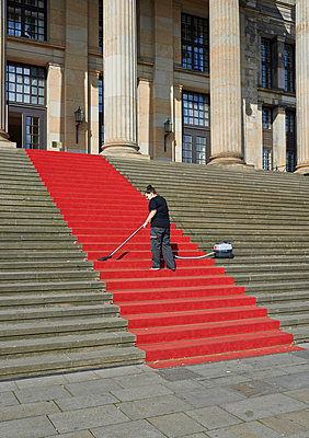 Red carpet - p390m1050211 by Frank Herfort
