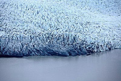 Vatnajökull glacier with coastline, Landmannalaugar, Iceland - p1026m992047f by Romulic-Stojcic