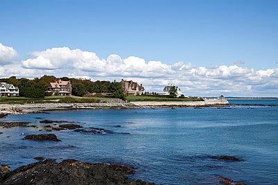 Villen an der Küste von Rhode Island - p1094m900232 von Patrick Strattner