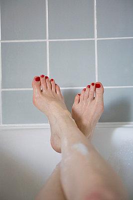Entspannt baden - p4470415 von Anja Lubitz