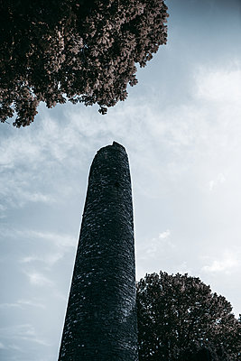 Ireland, The Round Tower of Monasterboice - p1681m2283669 by Juan Alfonso Solis