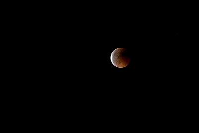 Blutroter Mond - p8420111 von Renée Del Missier