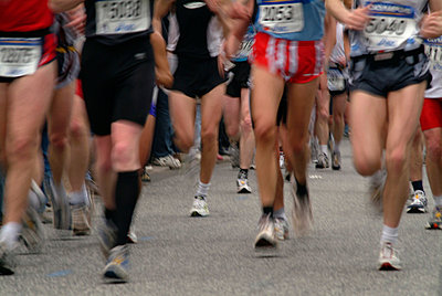 Marathonlauf - p0670720d von Thomas Grimm