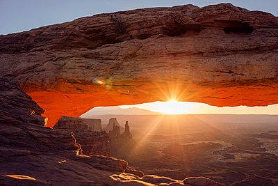 Mesa Arch - p1507m2028549 by Emma Grann