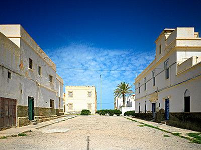 Empty street in Sidi Ifni - p2800354 by victor s. brigola