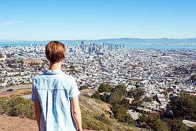 Blick auf San Francisco - p432m1082623 von mia takahara