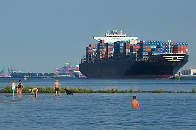 Container ship - p178m886431 by owi