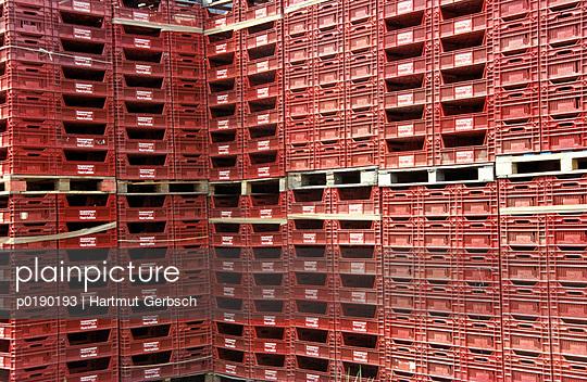 Lebensmittelkisten - p0190193 von Hartmut Gerbsch