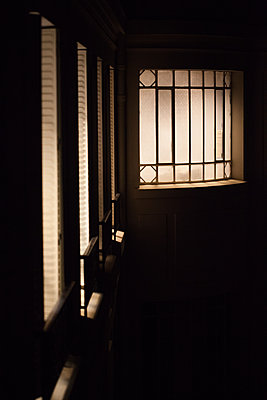 Lighted window - p873m1460967 by Philip Provily