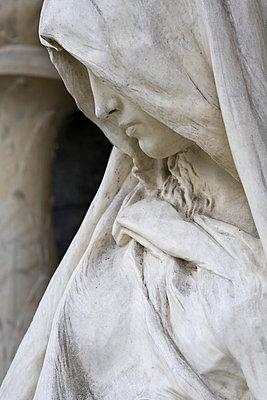 Friedhofsstatue - p3300156 von Harald Braun