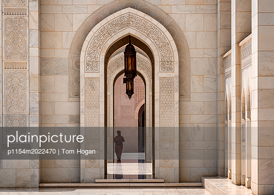 Große Sultan-Qabus-Moschee - p1154m2022470 von Tom Hogan