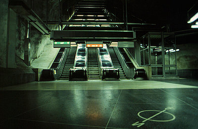 Subway station - p9791823 by Strazar