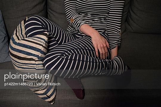 Streifen Outfit - p1422m1486723 von Vivian Rutsch